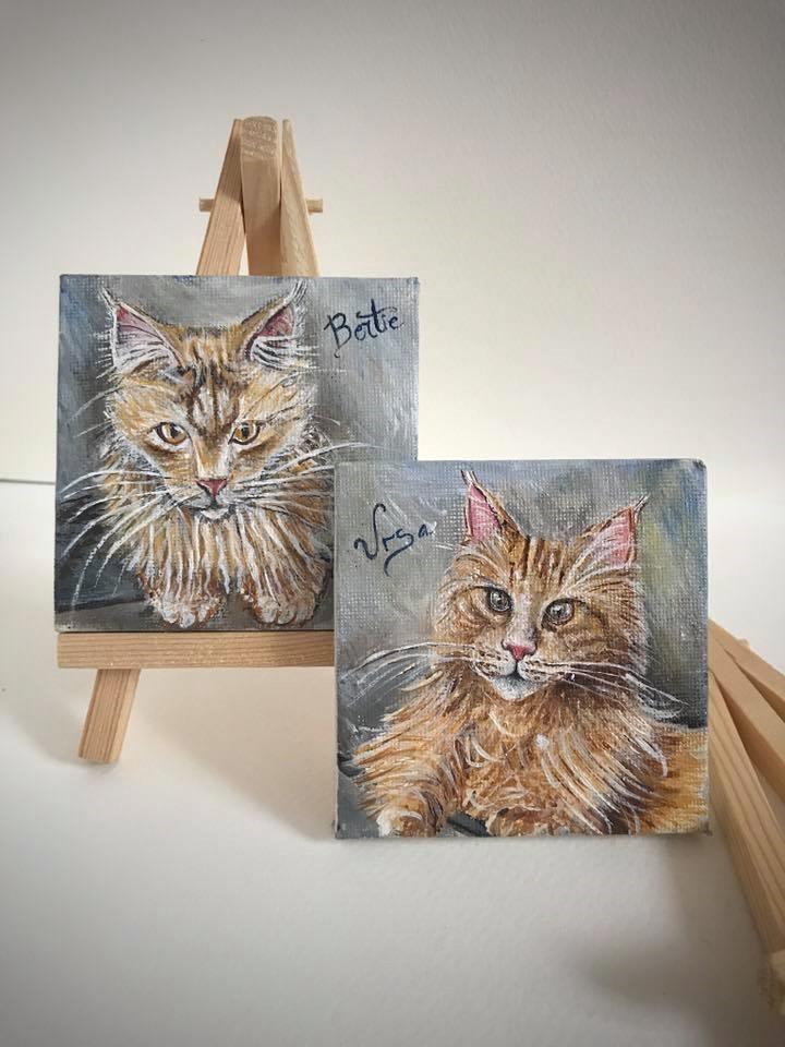 Картины домашних животных 2